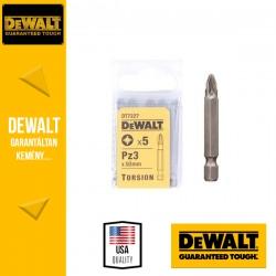 DEWALT DT7227-QZ Pozidrív torziós csavarozóbetét PZ3 50 mm - 5 db/csomag