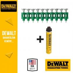 DEWALT DDF6510030 Horganyzott szegek közepes terhelésre 30 x 2,6 x 6,3 mm x 700 db + 1 gázpatron