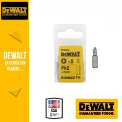 DEWALT DT7235-QZ Phillips torziós csavarozóbetét csökkentett csúcs PH2 25 mm - 5 db/csomag