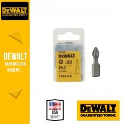 DEWALT DT7238-QZ Phillips torziós csavarozóbetét PH2 25 mm - 20 db/csomag