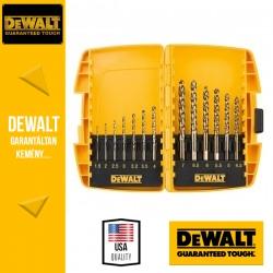 DEWALT DT7920B-QZ EXTREME2 HSS-G Fémfúrószár készlet miniszéfben - 13 db-os