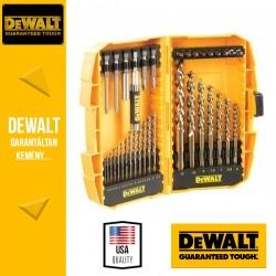 DEWALT DT7938B-QZ EXTREME2 HSS-G Fémfúrószár készlet miniszéfben - 36 db-os