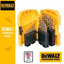 DEWALT DT7926-XJ EXTREME2 HSS-G Fémfúrószár készlet indexkazettában - 29 db-os