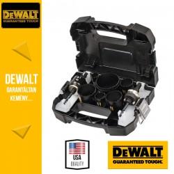 DEWALT DT8270L-QZ Universal Extreme körkivágó készlet - 11 db-os