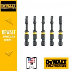 DEWALT DT7398T-QZ EXTREME IMPACT Torziós csavarbitek T30 50 mm - 5 db