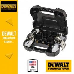 DEWALT DT8269L-QZ Vizszerelő körkivágó készlet - 11 db-os