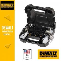 DEWALT DT8273L-QZ Elektriker Extreme Villanyszerelő körkivágó készlet - 11 db-os