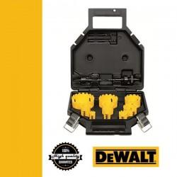 DEWALT DT8278-QZ Karbidszemcsés körkivágó készlet - 13 db-os