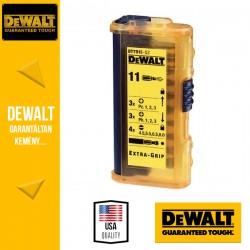 DEWALT DT7915-QZ Csavarozóbetét készlet vékony zseb tokban- 11 db-os