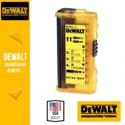 DEWALT DT7916-QZ Csavarozóbetét készlet vékony zseb tokban- 11 db-os