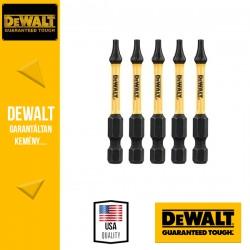 DEWALT DT7393T-QZ EXTREME IMPACT Torziós csavarbitek T10 50 mm - 5 db