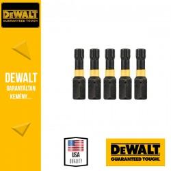 DEWALT DT7383T-QZ EXTREME IMPACT Torziós csavarbitek T27 25 mm - 5 db