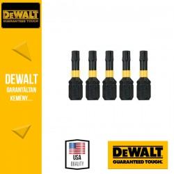 DEWALT DT7382T-QZ EXTREME IMPACT Torziós csavarbitek T25 25 mm - 5 db