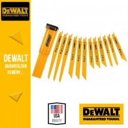 DEWALT DT2445-QZ Kardfűrészlap készlet - 12 db-os