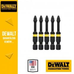 DEWALT DT7391T-QZ EXTREME IMPACT Torziós csavarbitek Pz2 50 mm - 5 db