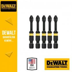 DEWALT DT7998T-QZ EXTREME IMPACT Torziós csavarbitek Ph2 50 mm - 5 db
