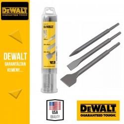DEWALT DT60330-QZ SDS-plus Véső készlet - 3 db-os