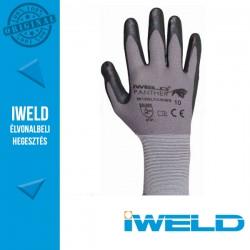 IWELD Panther Lycra/nylon, nitril tenyér mártott védőkesztyű - 10-es