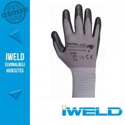 IWELD Panther Lycra/nylon, nitril tenyér mártott védőkesztyű - 8-as
