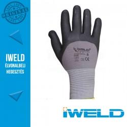 IWELD Gekko Lycra/nylon, 3/4 nitril mártott pöttyös védőkesztyű - 8-as