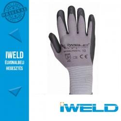 IWELD Gekko Light Lycra/nylon, nitril tenyér mártott pöttyös védőkesztyű - 10-es
