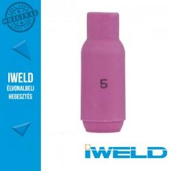 IWELD Kerámia gázterelő SR17/26-hoz 5-ös - 8,0 x 47 mm