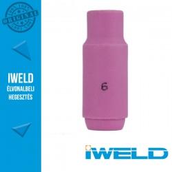 IWELD Kerámia gázterelő SR17/26-hoz 6-os - 9,5 x 47 mm