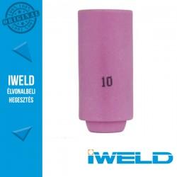 IWELD Kerámia gázterelő SR17/26-hoz 10-es - 16,0 x 47 mm