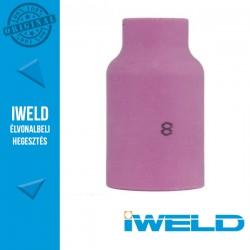 IWELD Kerámia gázterelő gázlencséhez 8-as SR17/26 54N14 - 12,5 x 42 mm