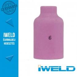IWELD Kerámia gázterelő gázlencséhez 6-os SR17/26 54N16 - 9,5 x 42 mm