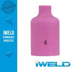 IWELD Kerámia gázterelő gázlencséhez 4-es SR17/26 54N18 - 6,5 x 42 mm