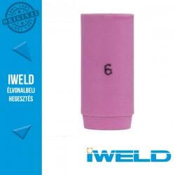 IWELD Kerámia gázterelő SR9/20-hoz 6-os - 9,5 x 30 mm