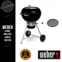 WEBER Master-Touch GBS Premium E-5775 Faszenes grill + sütőrács - 57 cm-es