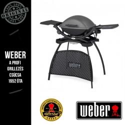 WEBER Q 2400 Elektromos grill állvánnyal