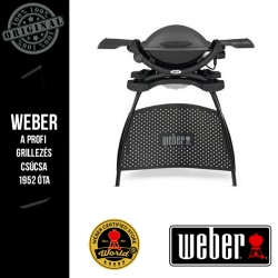 WEBER Q 1400 Elektromos grill állvánnyal