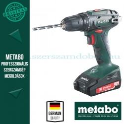 Metabo BS 18 Akkus fúrócsavarozó
