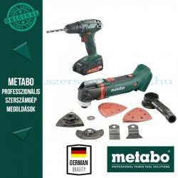 Metabo Combo készlet 2.6.1 18 V BS 18 + MT 18 LTX