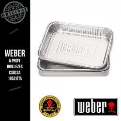 WEBER Csepegtető tálcák - 3.56 x 15.24 x 21.84 cm, 10 db