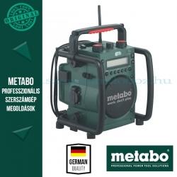 Metabo RC 14.4 - 18 Akkus Építkezési Rádió
