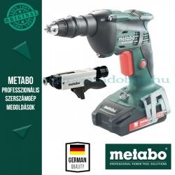 Metabo SE 18 LTX 6000 Akkus csavarbehajtó + SM 5-55 Csavarozótár