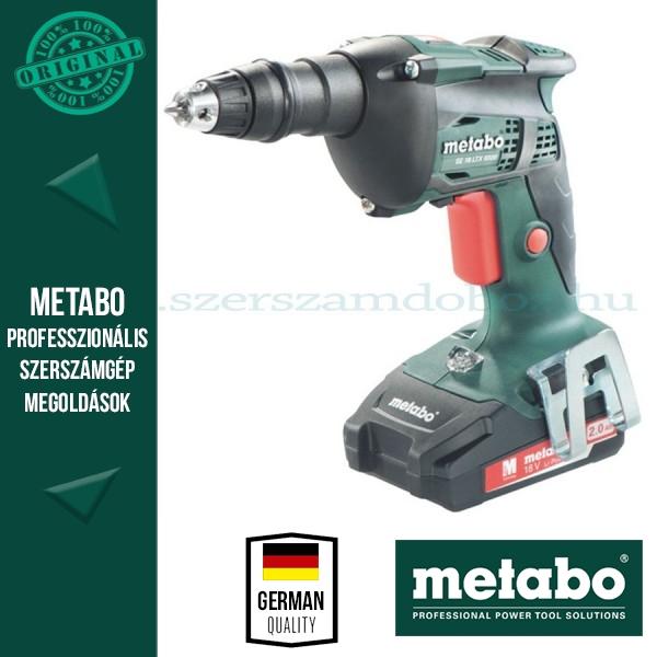 Metabo SE 18 LTX 6000 Akkus csavarbehajtó akku és töltő nélkül