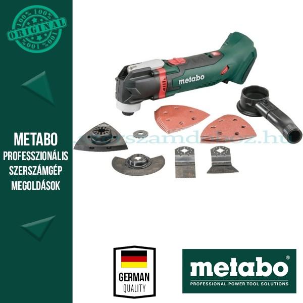 Metabo MT 18 LTX Akkus multifunkciósgép akku és töltő nélkül