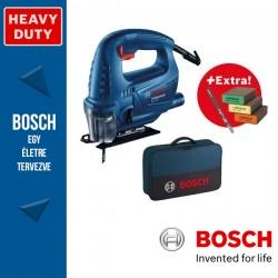 BOSCH GST 700 Szúrófűrész táskában kiegészítőkkel - 500W
