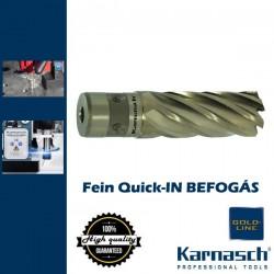 Karnasch Hss-Xe magfúró Fein-Quick-IN | 40/73mm hossz GOLD LINE-40