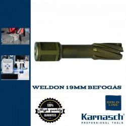Karnasch HM magfúró WELDON 19mm | 55/87mm hossz HARD LINE-55