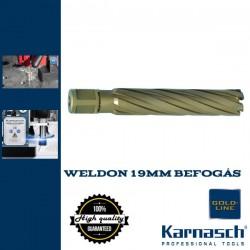 Karnasch HM magfúró WELDON 19mm | 110/143mm hossz HARD LINE-110