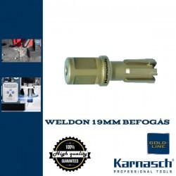 Karnasch HM magfúró WELDON 19mm | 30/63mm hossz RAIL LINE-30