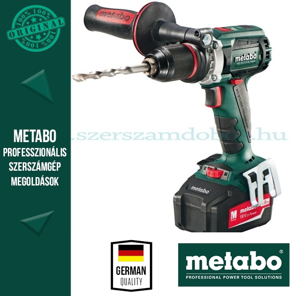 Metabo SB 18 LTX BL Impuls Akkus ütvefúró-csavarozó