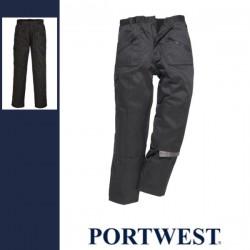 PORTWEST C387 - Bélelt Action nadrág - fekete