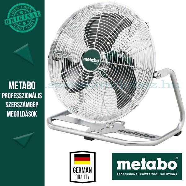 Metabo AV 18 Akkus ventilátor